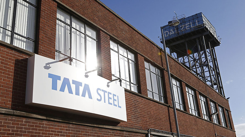 UK govt criticized as steel giant Tata axes 1,000 jobs