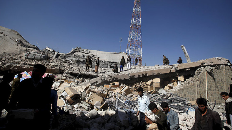 26 killed, 15 injured after Saudi-led airstrike hits police building in Yemen