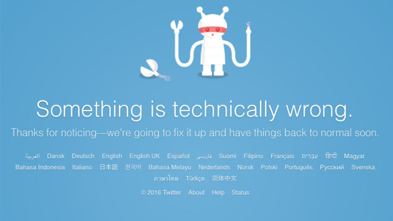 Twitter network down globally for 2.5 hours