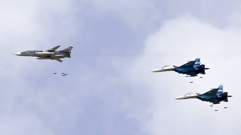 Russian airstrikes limited to 2 Syrian provinces as bad weather increases risk for civilians