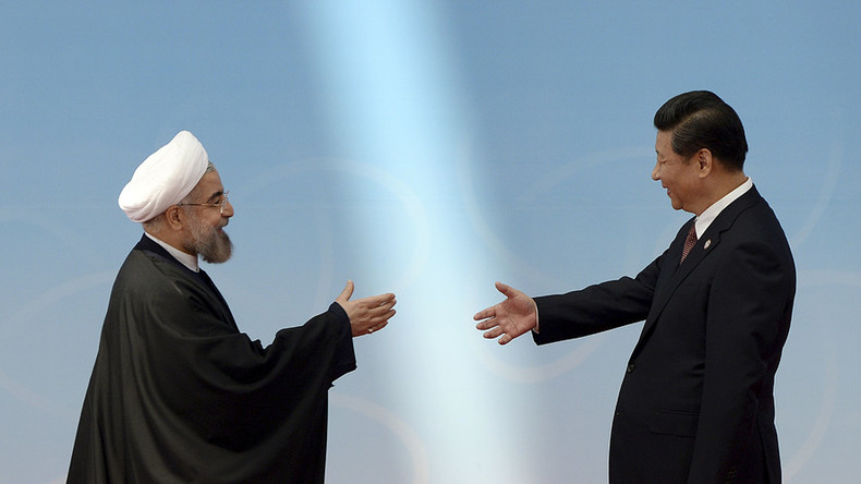 China wades into the Iran-Saudi swamp