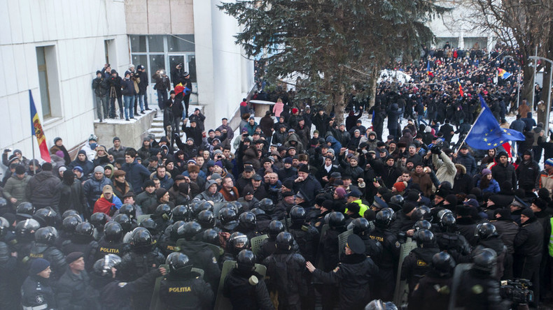 'Moldova's protests as a mirror image of Ukraine crisis'