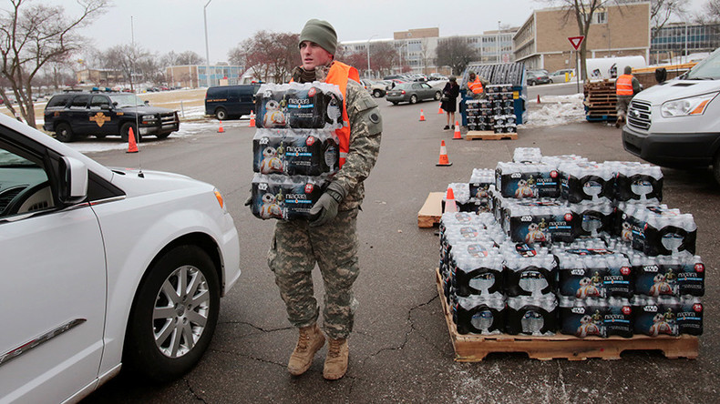 EPA head in charge of Flint resigns as Obama pledges $80 million for poisoned water crisis