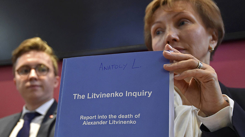 Litvinenko saga: British hypocrisy exposed in verdict 'probably' influenced by politics