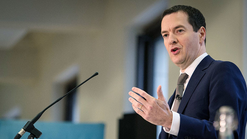 Hazardous risks to global economy demand cross-border response, says Osborne