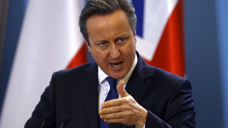 UK's Cameron covertly helping House of Saud's military offensive in Yemen