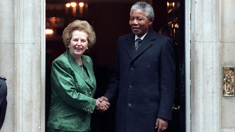 Thatcher tried to stop British university honoring Mandela