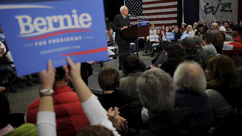 Bernie Sanders' supporters 'frustrated with emerging low-wage police state'