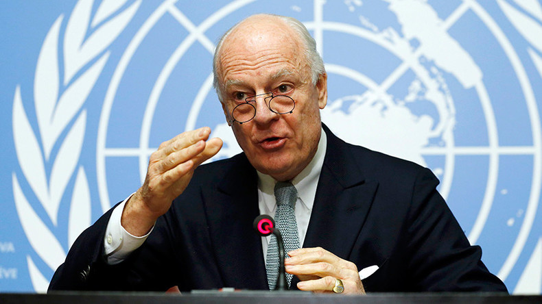 Peace talks between Damascus & opposition to start January 29 - UN Syria envoy