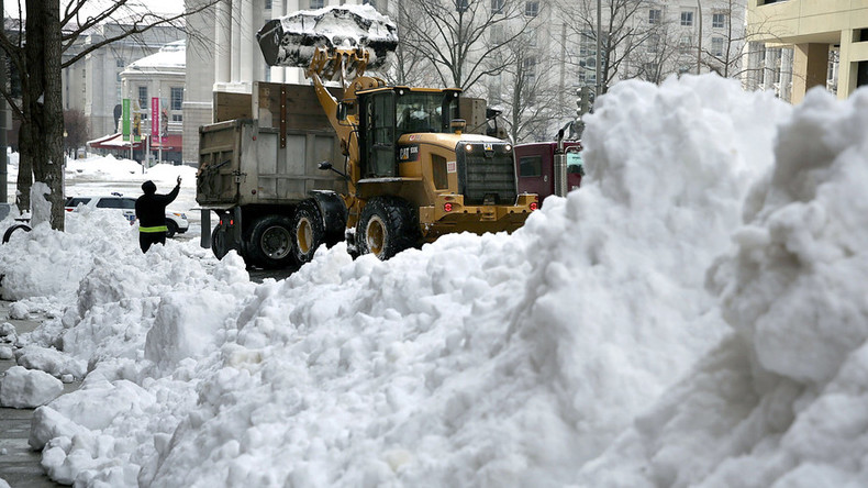 Snowstorm 'Jonas' comes to an end with hefty price tag
