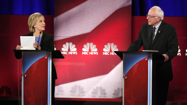 Clinton, Sanders make final pitch at Democratic town hall debate before Iowa votes