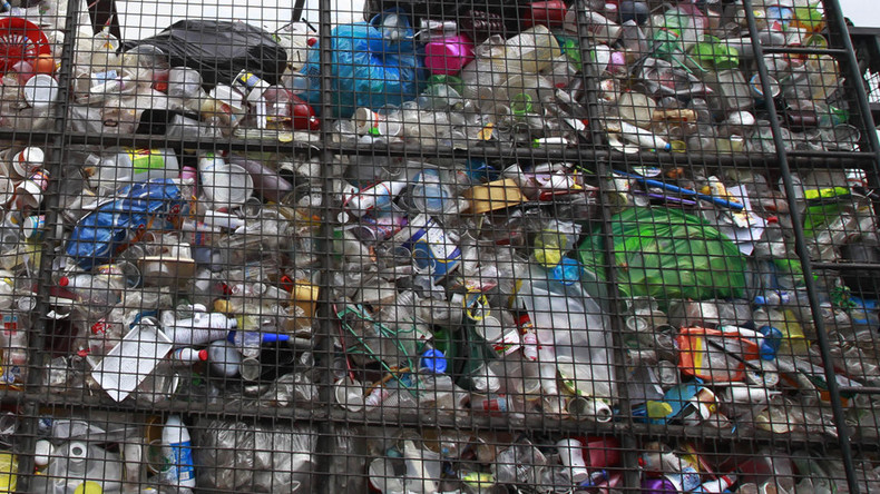 Earth 'covered in plastic': 5bn tons of waste has contaminated marine life, entered food chain