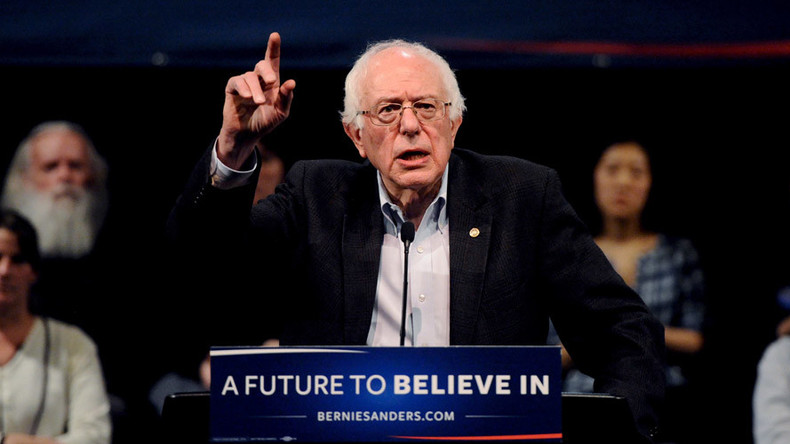 Against the odds: Sanders gets foot in the White House door… to meet Obama