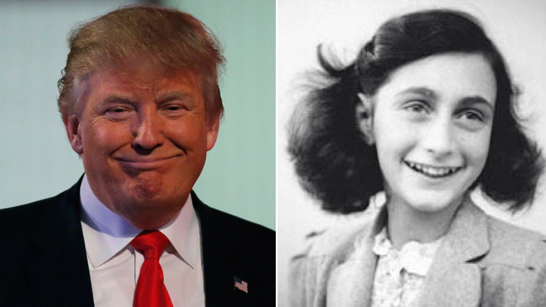 'Donald Trump acts like a new Hitler' – Anne Frank's stepsister