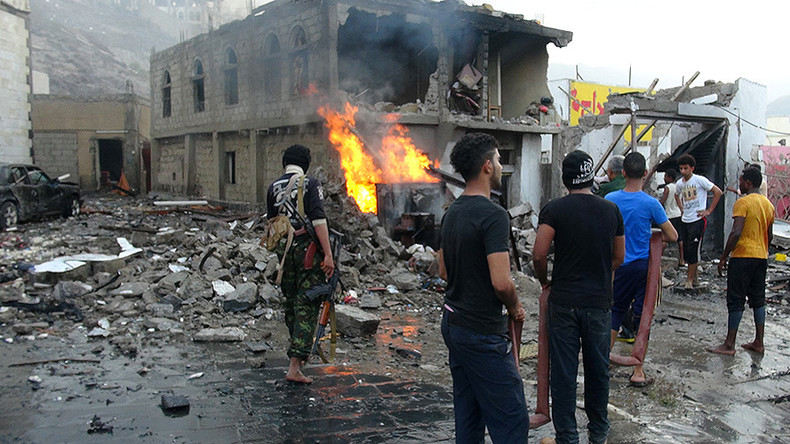 7 killed, 10 injured in powerful blast outside presidential residence in Aden, Yemen