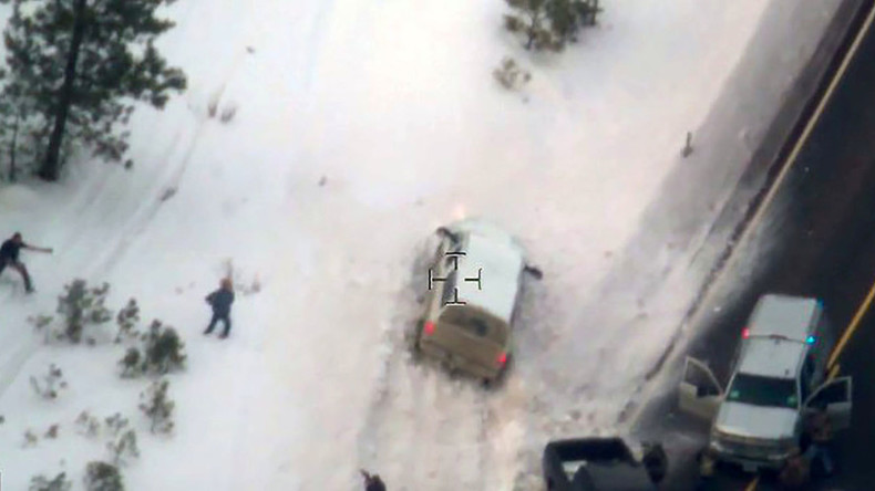 FBI releases video of shooting death of Oregon protester