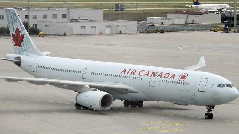 'Flight that sucked': Air Canada plane abruptly drops 25,000 feet, oxygen masks deployed (PHOTO)
