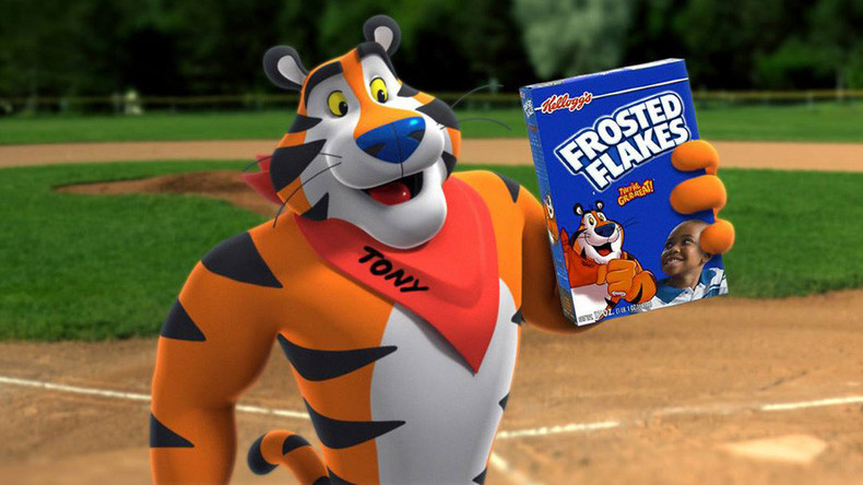 They're gr-r-r-ross! Tony the Tiger roars at furries to stop sending sexy tweets