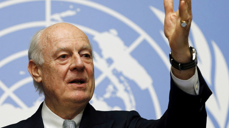 UN envoy 'optimistic, determined' after informal talks with Syrian opposition