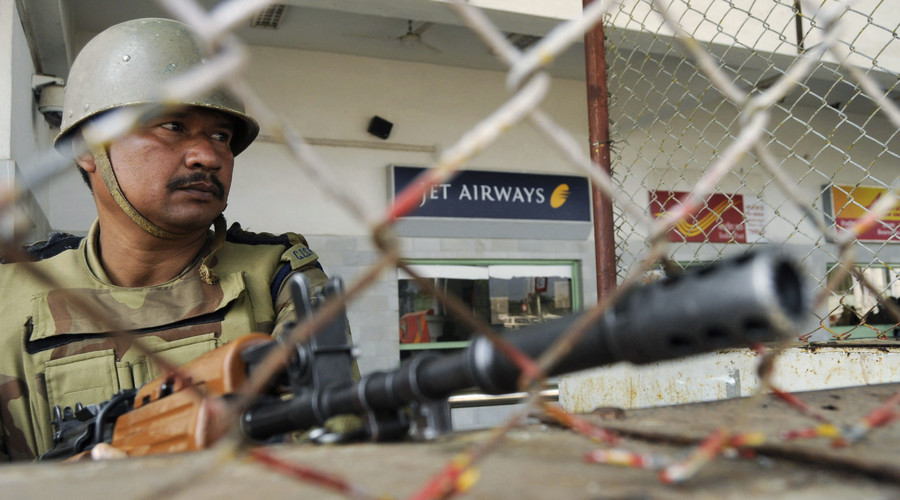 7 killed in gun battle after terrorists storm Indian airbase near Pakistani border