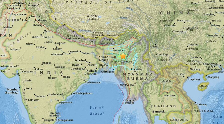 India quake death toll rises to 9, up to 200 injured