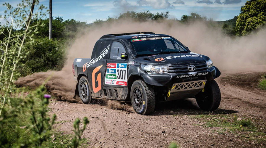 Speeding during Dakar race lands Russian team 1-minute fine
