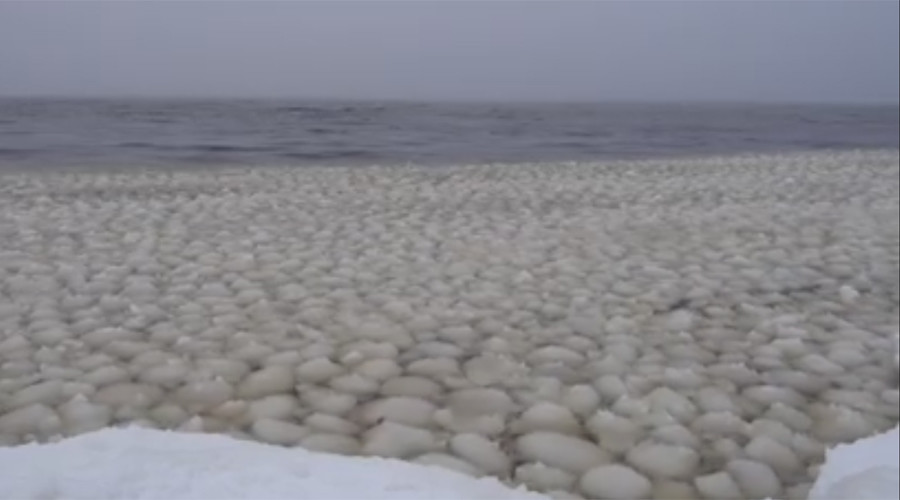 'From another planet': Waves of strange 'snowballs' found in Maine lake (VIDEO)