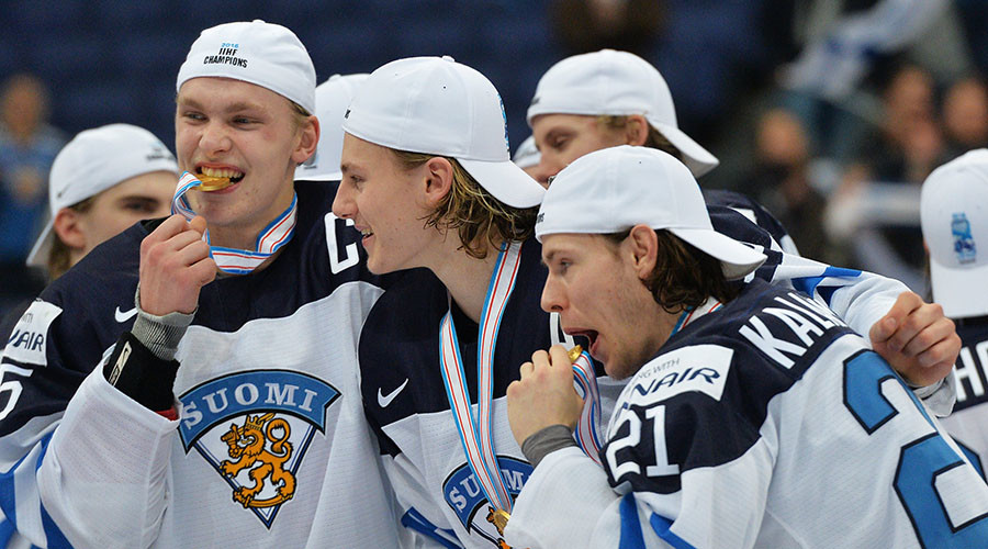 Finland wins junior ice hockey gold - Russia 2nd, US 3rd