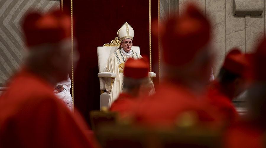 God a terrorist? Vatican newspaper slams Charlie Hebdo cover