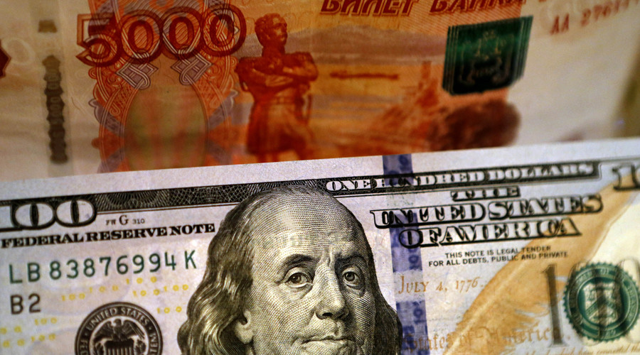 Russian ruble sinks to lowest since 2014
