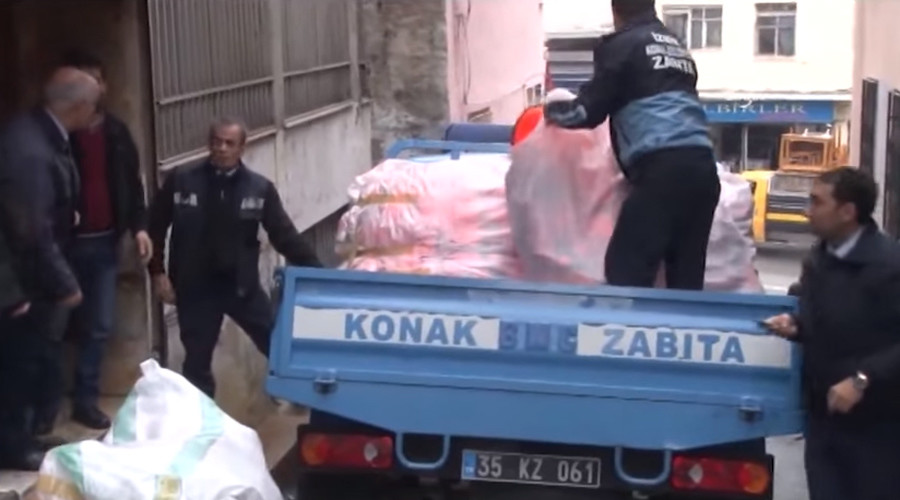 More than 1,000 fake life jackets found in raid on Turkish workshop staffed with Syrian children