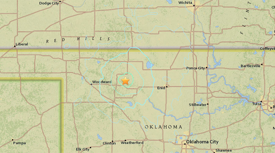 Multiple 4.0+ magnitude earthquakes hit Northwest Oklahoma