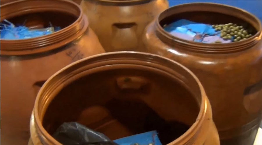 France seizes ton of cannabis hidden in olive barrels (VIDEO)