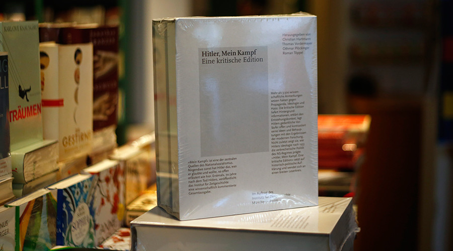 Hitler's 'Mein Kampf' published in Germany for first time since WWII