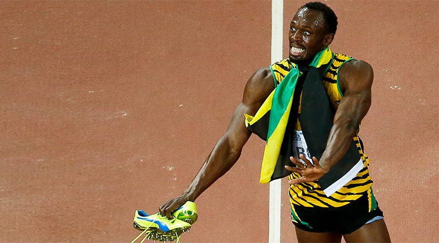 Usain Bolt sneakers stolen in car break-in