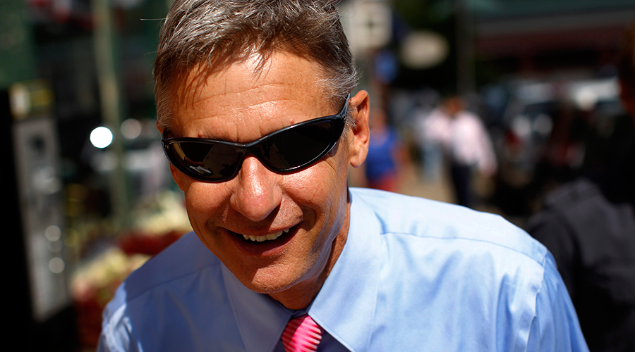 'A lot of disenfranchised voters': Libertarian Gary Johnson discusses his presidential bid