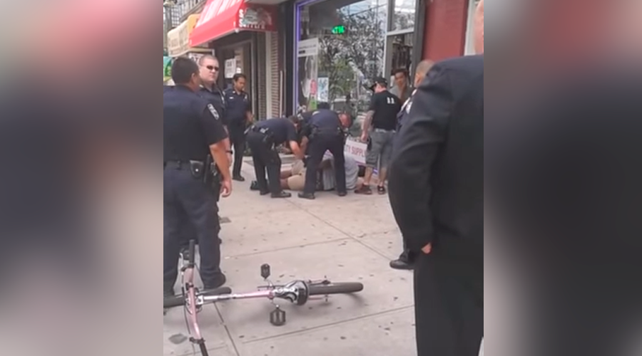 NYPD sergeant hit with internal charges in connection to Eric Garner chokehold death