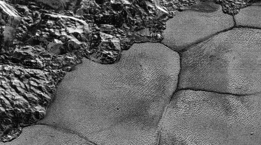 Pluto space slugs? High-res NASA mosaic shows 'lava lamp' surface of dwarf planet