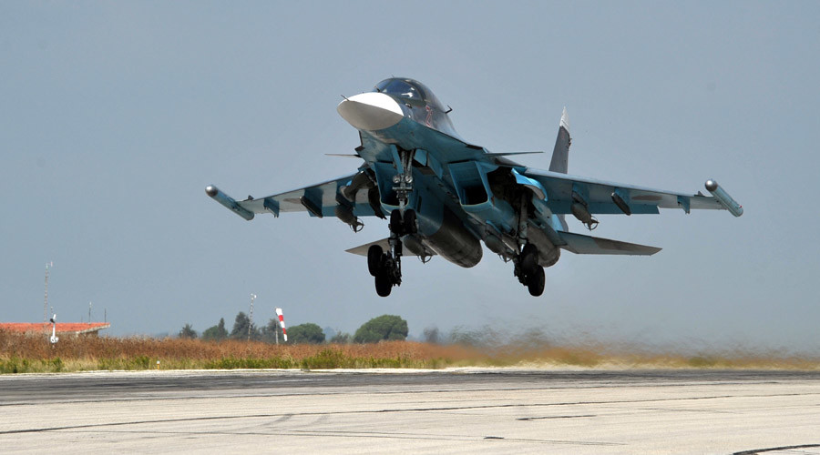 Russian air force provides support for 7,000 Syrian rebels advancing on ISIS – General Staff