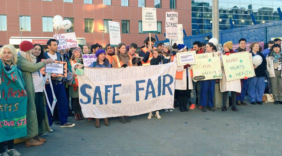 Junior doctors strike over pay and working conditions
