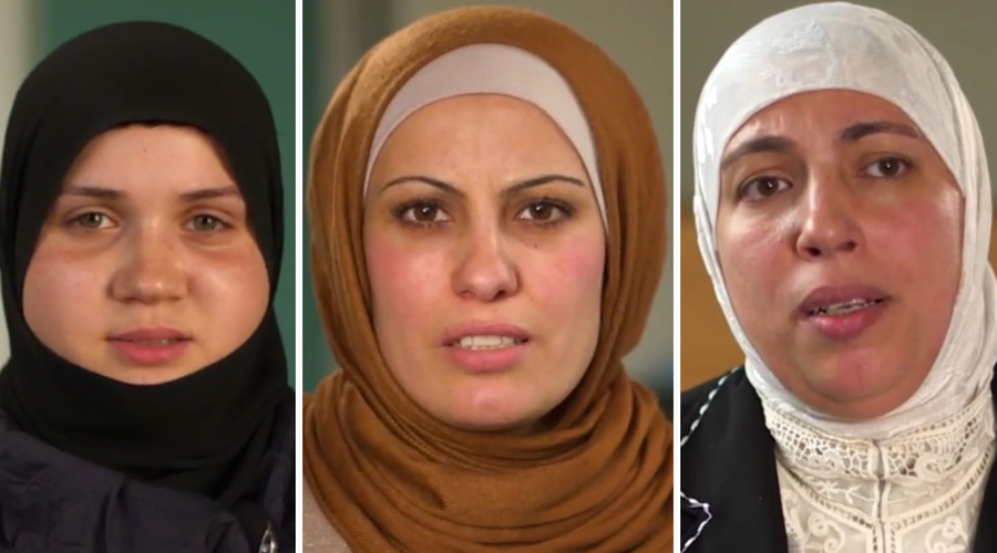 Syrian refugee mothers urge British women not to take children to join ISIS (VIDEO)