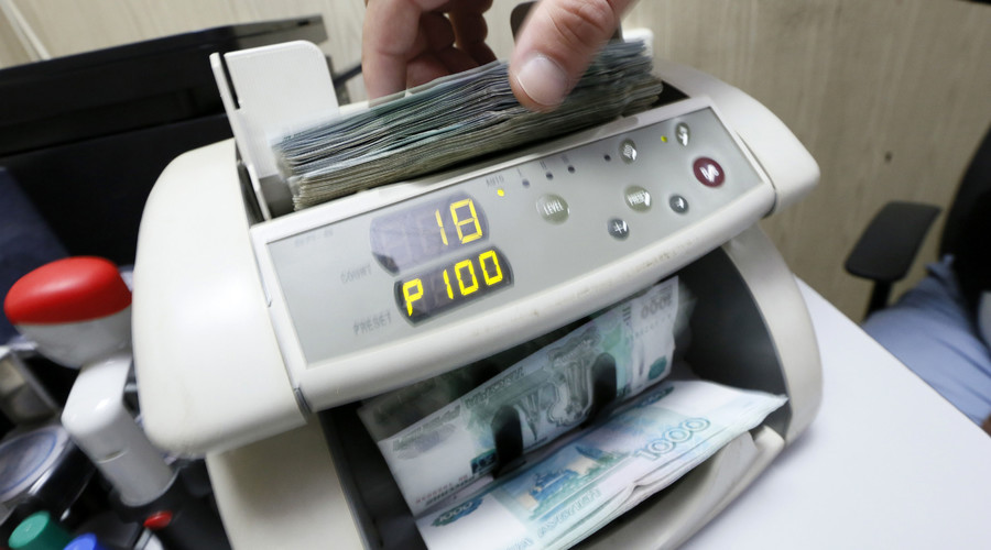 'Ruble won't be in free fall forever'