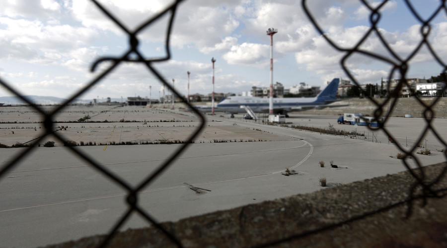 Breaking bad: Resourceful Russian dismantles & sells airfield runway