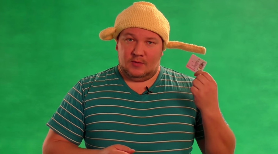 Pasta la vista! Russian Pastafarian driver told to wear his 'sieve' hat – or lose his license