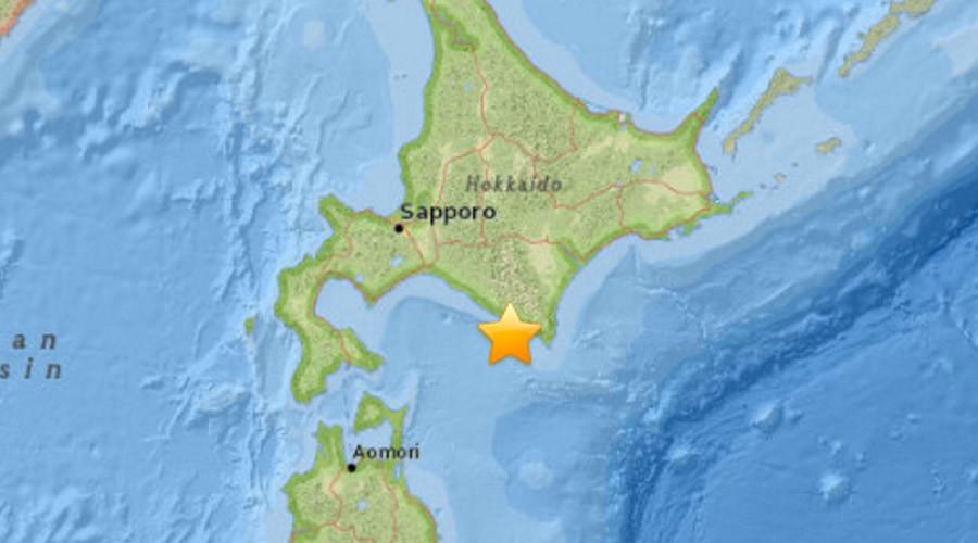 6.7 quake hits northern Japan