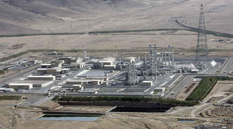 Iran removes Arak reactor core and fills it with cement