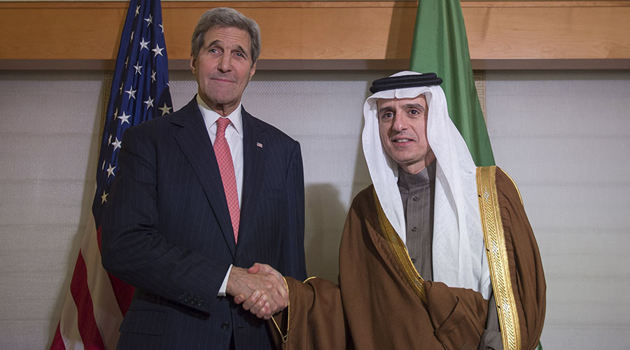 Gulf apart? Kerry to talk Iran & Syria with Saudi FM in London
