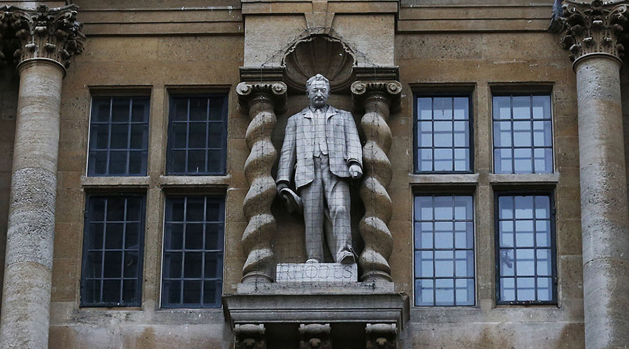Rhodes statue protesters: 'Oxford University is institutionally racist'