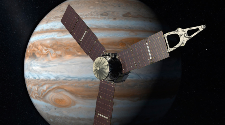 NASA's Juno breaks distance-from-sun record for solar-powered spacecraft
