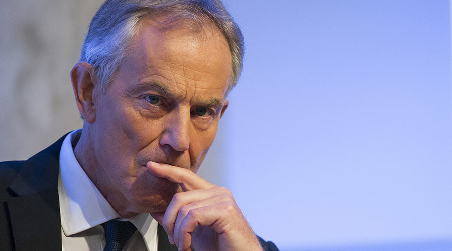 Tony Blair: Britain must join EU army, fend off 'backward-looking' Euroskeptics